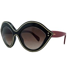 Valentino V689S017 Ladies Black Red V689S Sunglasses >>> You can find out more details at the link of the image.Note:It is affiliate link to Amazon.