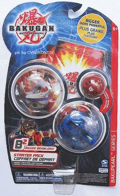 Bakugan Gray PREYAS DIABLO Blue LIMULUS B2 Starter Set 3-Pack B2 New MIP 2009 picclick.com #Cyberontix #Bakugan #Preyas