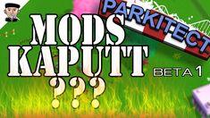 MODS KAPUTT? ♦ PARKITECT Beta 1 ♦ Vorstellung ♦ Parkitect Beta 1 Neuerungen