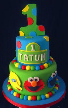 sesame street cakes | Sesame Street Cake