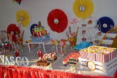 mesa circo