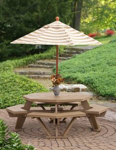 """52"""" Octagon Patio Set  Poly or Wood"""