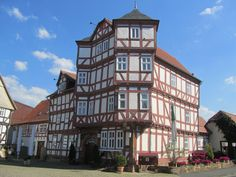 #Germany #Hessen #Schwalm #Eder #Kreis #Schwalmstadt #Ziegenhain has a wonderful small Old town