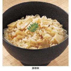 釜を開けるのが楽しみ。【京都産たけのこ 炊き込みご飯の素】