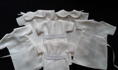 September 2017, a selection of items that make up our baby Bereavement Packs, made by our wonderful volunteers to ensure every UK Angel Baby has the chance to be dressed in a gorgeous Angel gown, with accompanying blanket, nappy, hat and bootees. All gowns made from a UK donated wedding dress.