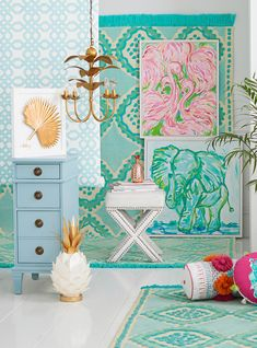 Pottery Barn Just Released An Exclusive Line With Lilly Pulitzer http://r29.co/2Ix0lFI