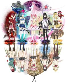 Puella Magi Madoka Magica - probably one of the best releases of 2012. Love anime? Then you need to get this series!