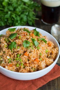Love this recipe for Mexican Rice by @Spicy Southern Kitchen| Christin Mahrlig