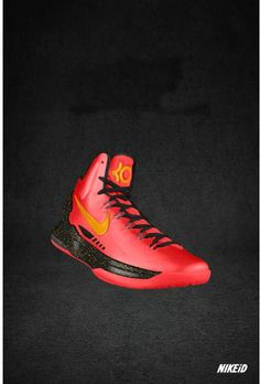 Kevin durant shoes 2013 KD V Sport Red Gold Black Nike Shox, Nike Flyknit, Nike Roshe, Kd Shoes, Me Too Shoes, Free Shoes, Girls Basketball Shoes, Isu Basketball, Kevin Durant Sneakers