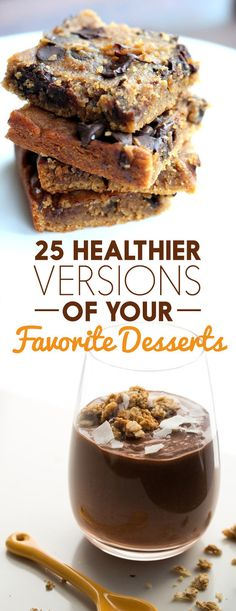 25 Healthier Versions Of Your Favorite Desserts ⋆ The NEW N!FYmag