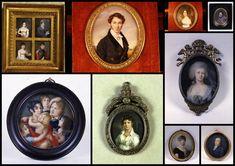 Artesplorando: Il ritratto a miniatura Opera, Miniatures, Frame, Home Decor, Picture Frame, Decoration Home, Opera House, Room Decor, Frames