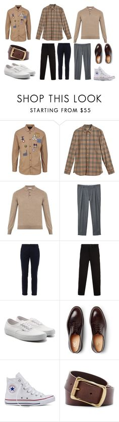 pastel by herdiansyah-baringbing on Polyvore featuring Brunello Cucinelli, Burberry, Dsquared2, Yohji Yamamoto, Dondup, MANGO MAN, George Cleverley, Vans, Converse and Frye