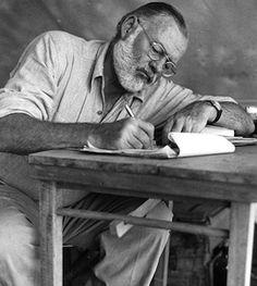 Ernest Hemingway's rules of blogging