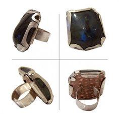 GIORGIA ATZORI, UNUSUAL COLD CONNECTED RING ,VERY GOOD! Diy Jewelry, Jewelry Rings, Jewelery, Jewelry Making, Jewelry Ideas, Ring Tutorial, Labradorite Ring, Wearable Art, Metallica