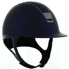 dcc3e654 Samshield Shadow Matt 255 SWAROVSKI CRYSTAL Helmet. RideudstyrHeste