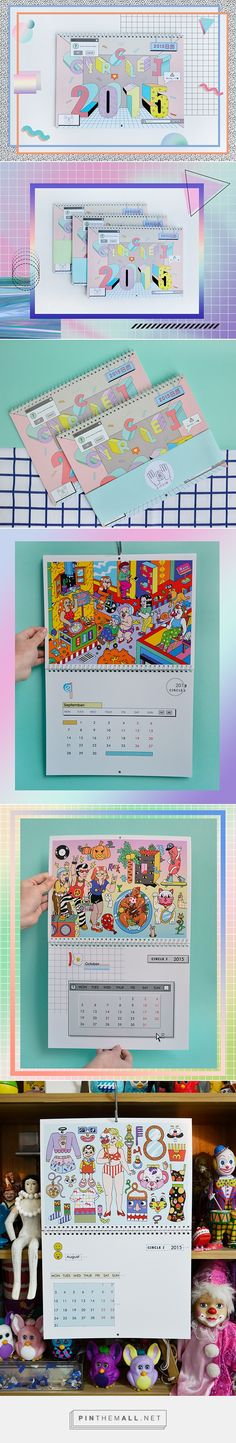 2015——calendar(原创设计) on Behance... - a grouped images picture - Pin Them All