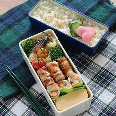 【作り置き・節約・詰め方・時短】お悩み解決!お弁当レシピ大特集 Cute Lunch Boxes, Lunch Box Recipes, Potato Salad, Cooking Recipes, Fruit, Healthy, Ethnic Recipes, Picnic Ideas, Food