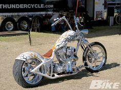 Bike Week in Daytona. Female Motorcycle Riders, Chopper Motorcycle, Motorcycle Camping, Camping Gear, Camping Photo, Honda Nighthawk, Cowboys From Hell, Custom Harleys, Custom Bikes