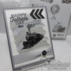 Happy Father's Day, Dad by stamperdianne - Cards and Paper Crafts at Splitcoaststampers
