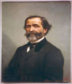Giuseppe Verdi (1813-1901), painting (1873), by Alfonso Simonetti (1840-1892).