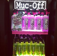 Muc-Off products in full stock again! Keep your bikes clean and fast for the summer. Use only the best for your ride! Water Bottle, Bike, Cleaning, Drinks, Summer, Products, Bicycle, Drinking, Beverages
