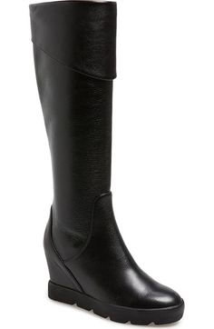 e4c2a6be077 MAXSTUDIO 'Zuni' Tall Wedge Boot (Women) available at #Nordstrom Wedge Boots