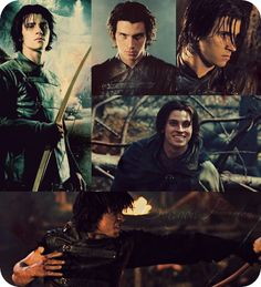 Murtagh ♥  He , Brom , and Durza were the only characters that looked like how they were described in the books ! (: