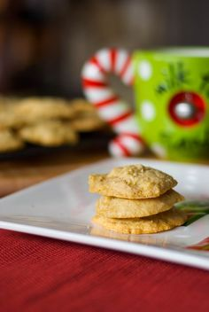 Carrie's Experimental Kitchen: Eggnog Cookies
