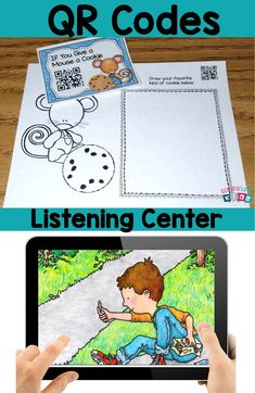 QR Codes for your listening center is a great way to have students hear stories read aloud to them on a daily basis. Use the response sheets for accountability!