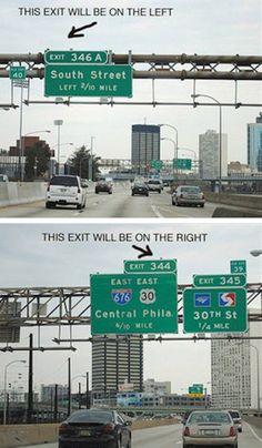 Road Sign Tip