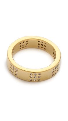 delaney square ring / gorjana