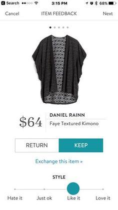 Daniel Rainn Faye Textured Kimono