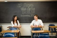 Clear Lake High School Engagement- Save the Date - Khloe Madison Photography - Weddings