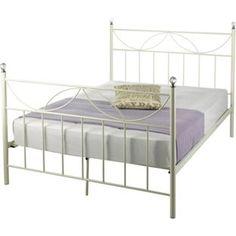 Buy Crystal Kingsize Bed Frame - Ivory at Argos.co.uk - Your Online Shop for Bed frames.