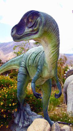 Dinosaurs at Cabazon, CA