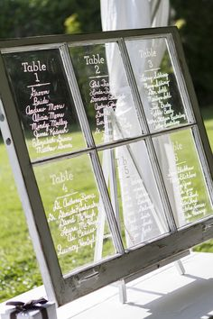 7 Ways to Display Your Seating Charts - Project Wedding