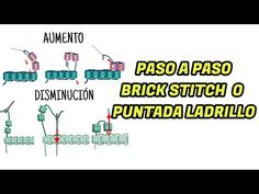 👧 PUNTADA LADRILLO o BRICK STITCH 😮 - IMPOSIBLE NO APRENDER !!! 🤗 [Paso/Paso] - YouTube Brick Stitch, Stitches, Youtube, Bead, Bracelets, Beautiful Things, Step By Step, Diy, Stitching