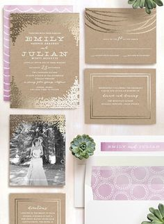 See this minted couples adorable proposal and stationery perfect a chic rustic wedding trend get a dazzling upgrade shop minteds selection of foil wedding invitation designwedding stopboris Choice Image