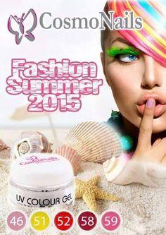 Cosmonails Fashion summer 2015 Gel colorati senza dispersione 110 nuance DURATA GARANTITA OLTRE 45 GIORNI MADE IN ITALY FIERI E ORGOGLIOSI DI VENDERE SOLO PRODOTTI ITALIANI COSMONails la differenza............ #cosmonailsitalia#nailcompetitioncosmonails# #campionatocosmonails#madeinitaly#fiere#catania#palermo#napoli# #unghieebellezza#lovenails#l #esnouvellesesthetiques#
