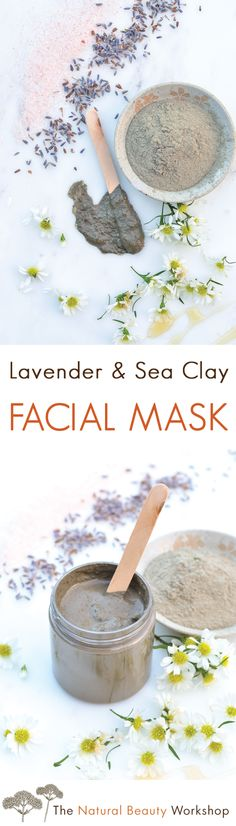 A deep cleansing and balancing facial mask made with Sea Clay and herbal ingredients.
