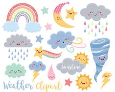Business Illustration, Graphic Illustration, Solar System Clipart, Monster Clipart, Rainbow Clipart, Storm Clouds, Creative Sketches, Free Design, Original Artwork