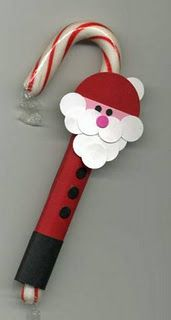 Santa Candy Cane would be cute for secret pals or we do secret santas.
