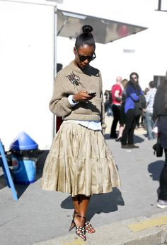 Gorgeous Shala Monroque | Street Style from Paris - http://www.lelook.eu