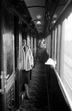 Jack Birns—Time & Life Pictures/ Aboard the Simplon-Orient Express, 1950