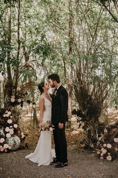 Wedding couple portrait in the forest | Image by Pablo Laguia