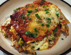 For the Love of Cooking » Lasagna with Turkey Italian Sausage and Vegetables