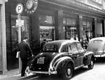 Paisagem urbana da rua Senador Paulo Egídio, no centro de São Paulo, em junho de 1958 Veja o especial SP 459 anos