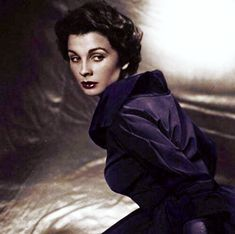 Jean Simmons recolor by vintage-amy