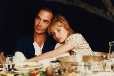 Le grand bleu - Publicity still of Rosanna Arquette & Jean-Marc Barr