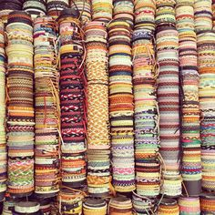 Bracelets in Torrevieja, Spain.